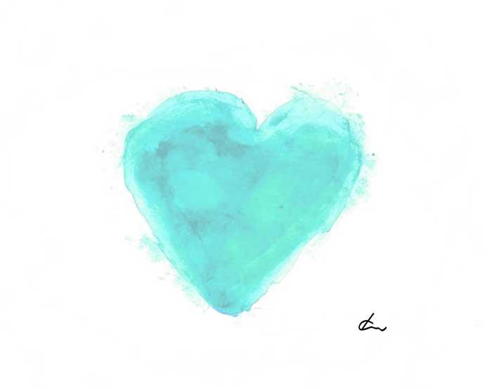 Liebe Dich Selbst Herz für mehr Selbstliebe