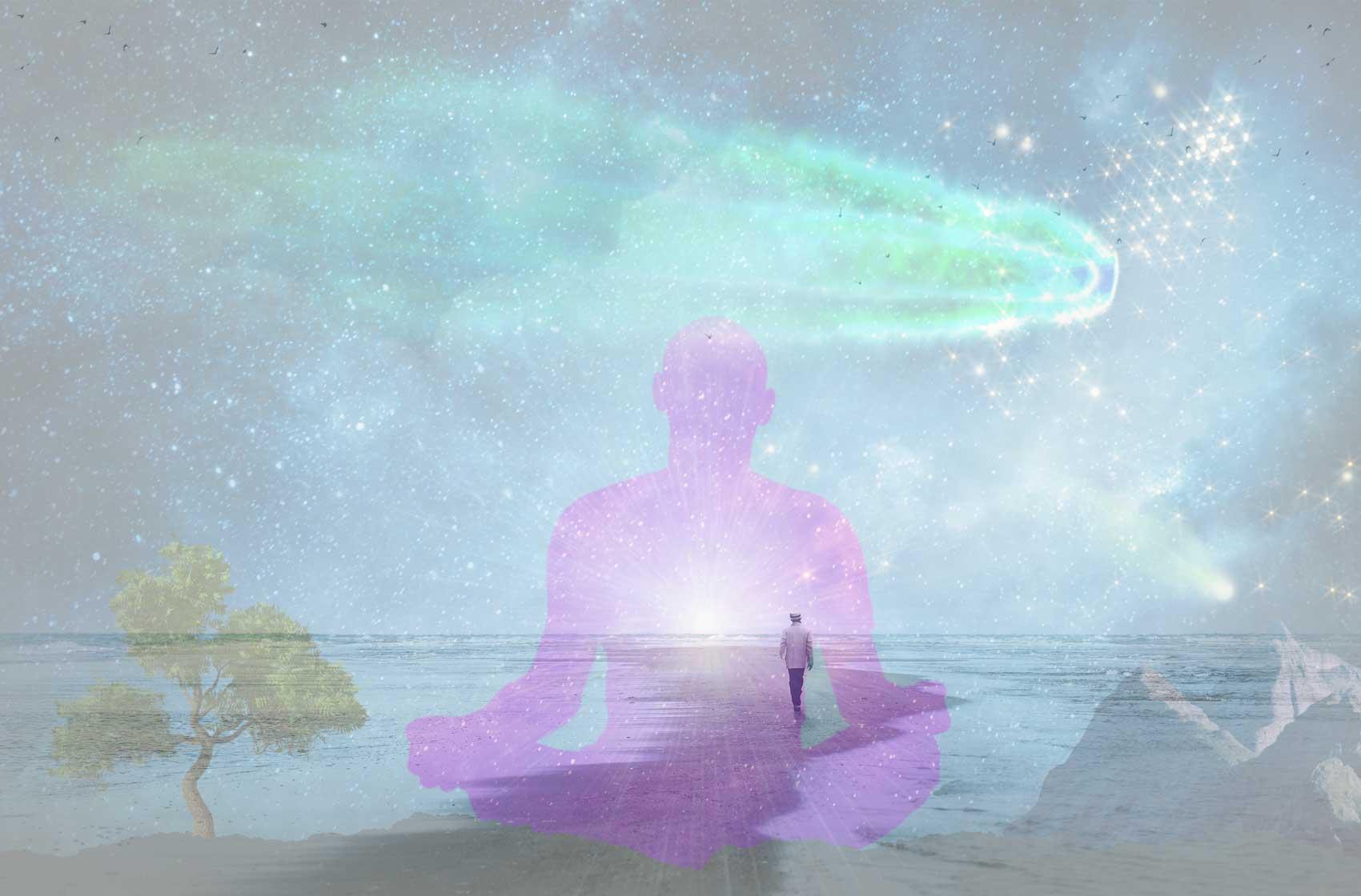 Körper Geist und Seele Bewusstsein