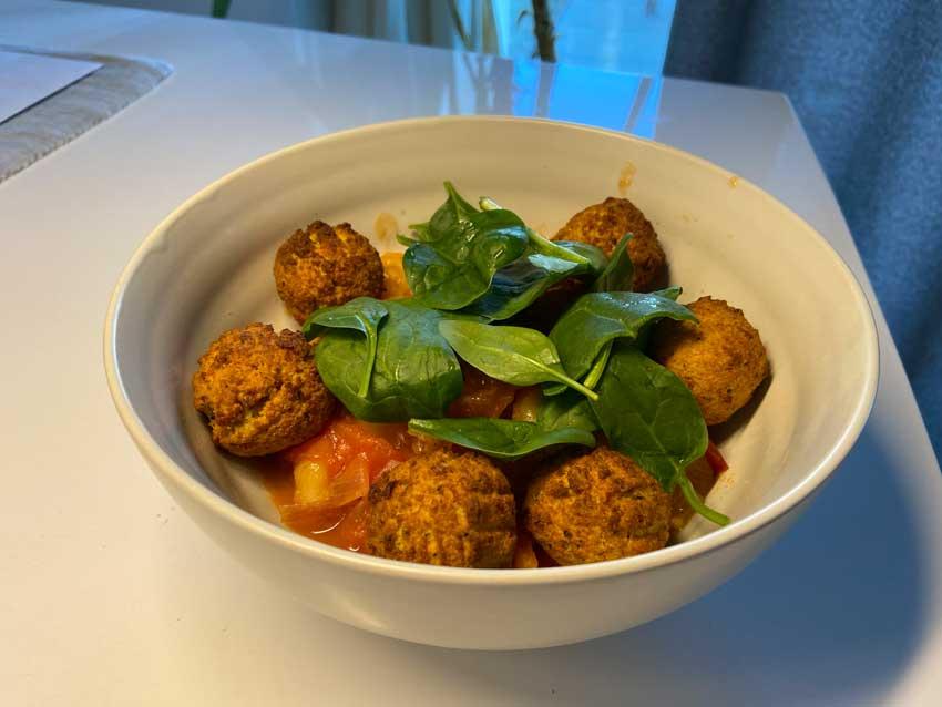 Falafel Gnochi