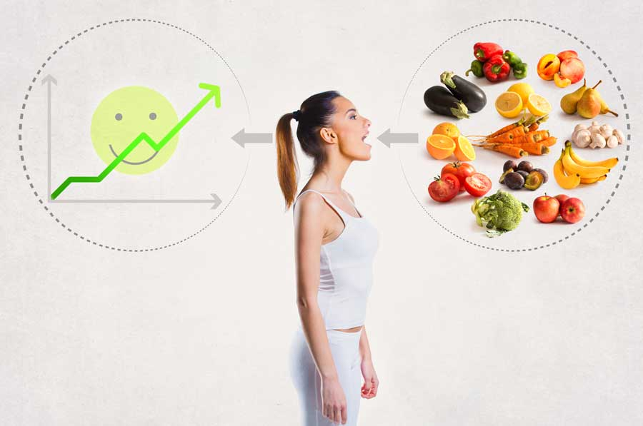 higher vibration frequency with nutrition